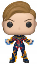 Фигурка Funko POP Marvel: Avengers Endgame – Captain Marvel With New Hair Bobble-Head (9,5 см)