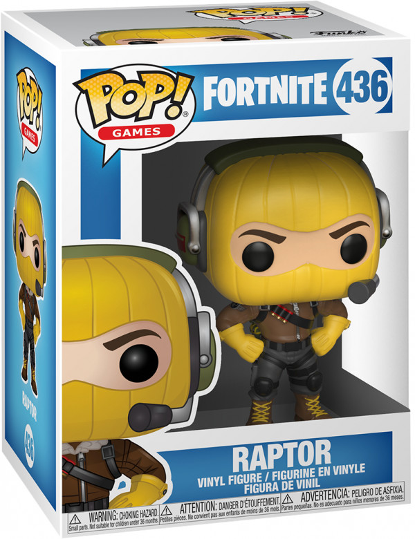 Фигурка Funko POP Games: Fortnite – Raptor (9,5 см)