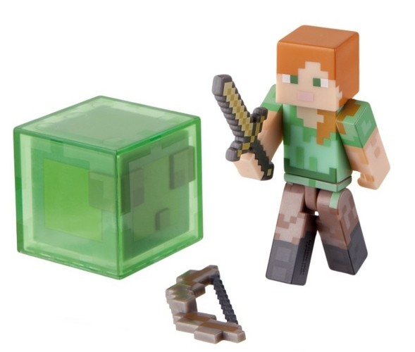 Фигурка Minecraft. Alex With Sword And Bow (8 см)