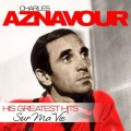 Charles Aznavour. Sur Ma Vie. His Greatest Hits (LP)