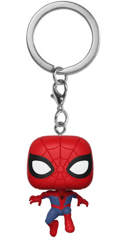 Брелок Funko Pocket POP: Spider-Man Into The Spider-Verse – Peter Parker