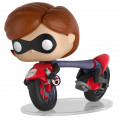 Фигурка Funko POP Rides: Incredibles 2 – Elastigirl On Elasticycle (9,5 см)
