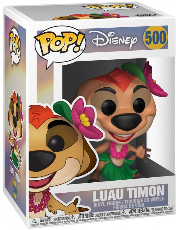 Фигурка Funko POP: Disney The Lion King – Luau Timon (9,5 см)