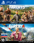 Комплект Far Cry 4 + Far Cry 5 [PS4]