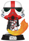 Фигурка Funko POP: Star Wars The Mandalorian – Incinerator Stormtrooper Bobble-Head (9,5 см)
