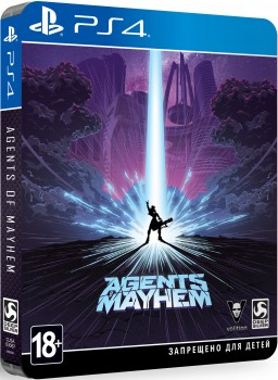 Agents of Mayhem. Steelbook Edition [PS4]