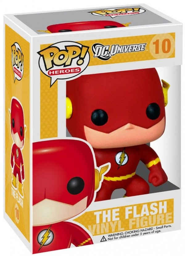 Фигурка Funko POP Heroes: DC Comics – The Flash (9,5 см)