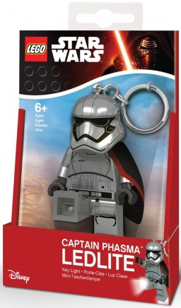Брелок-фонарик LEGO Star Wars: Captain Phasma
