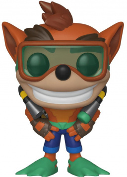 Фигурка Funko POP Games: Crash Bandicoot – Crash Bandicoot With Scuba Gear (9,5 см)