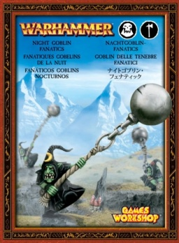 Набор миниатюр Warhammer 40,000. Night Goblin Fanatics