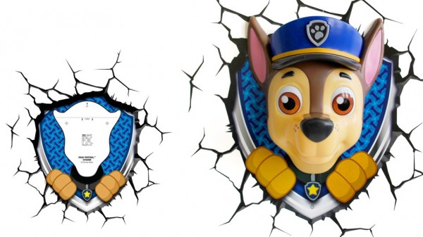 3D-Светильник Paw Patrol: Chase