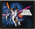 3D Постер Star Wars: A New Hope
