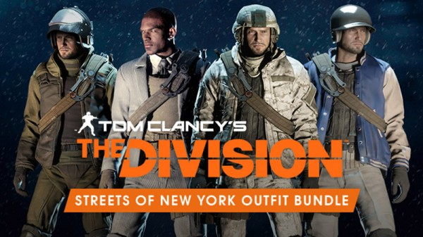 Tom Clancy's The Division. Streets of New York Outfit Bundle. Дополненительные материалы