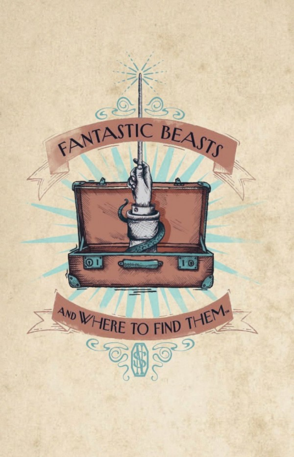 Блокнот Fantastic Beasts And Where To Find Them