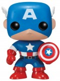 Фигурка Funko POP Marvel: Marvel Universe – Captain America Bobble-Head (9,5 см)