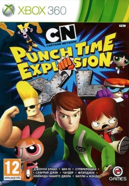 Cartoon Network. Punch Time Explosion XL [Xbox 360]