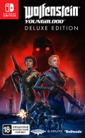 Wolfenstein: Youngblood. Deluxe Edition (код загрузки, без картриджа) [Nintendo Switch]