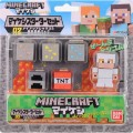 Фигурка Minecraft Starter Set Survival Pack With Alex Figure (4,1 см)
