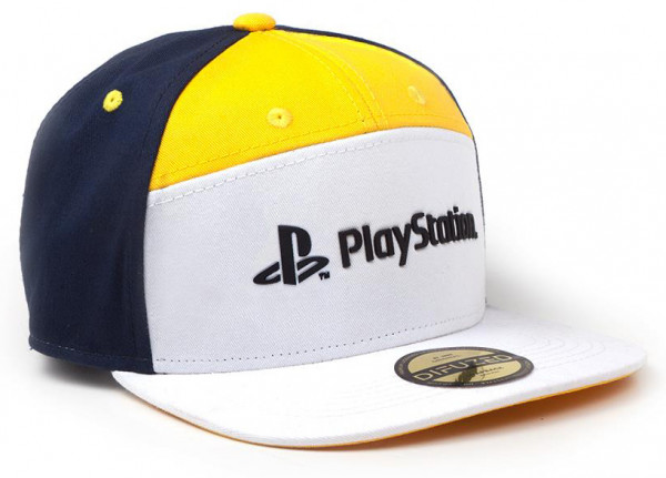 Бейсболка Playstation 7: Panels Snapback
