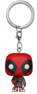 Брелок Funko POP Pocket: Deadpool – Bedtime Deadpool Bobble-Head Exclusive