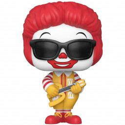Фигурка Funko POP Ad Icons: McDonald`s – Rock Out Ronald McDonald (9,5 см)