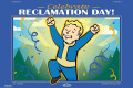 Плакат Fallout 76: Reclamation Day