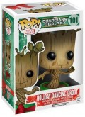 Фигурка Funko POP Marvel: Guardians Of The Galaxy – Holiday Dancing Groot Bobble-Head (9,5 см)