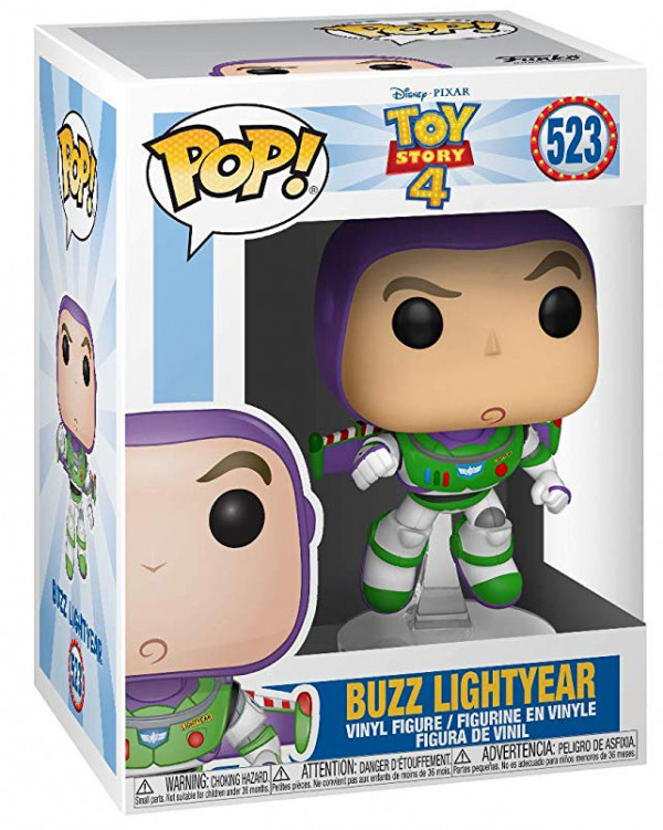 Фигурка Funko POP: Disney / Pixar Toy Story 4 – Buzz Lightyear (9,5 см)
