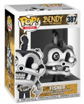 Фигурка Funko POP Games: Bendy And The Ink Machine – Fisher (9,5 см)