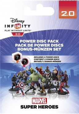 Disney. Infinity 2.0. Marvel. Набор 2 волшебных жетона [PS3 / PS4 / Xbox 360 / Xbox One]
