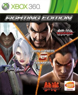 Fighting Edition (Tekken 6 + Soul Calibur 5 + Tekken Tag Tournament 2) [Xbox 360]
