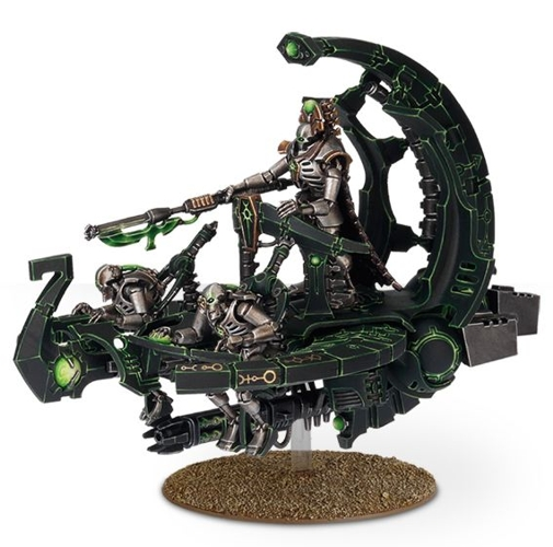 Набор миниатюр Warhammer 40,000. Necron Catacomb Command Barge / Annihilation Barge