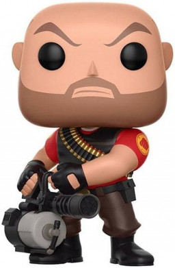 Фигурка Funko POP Games: Team Fortress 2 – Heavy (9,5 см)
