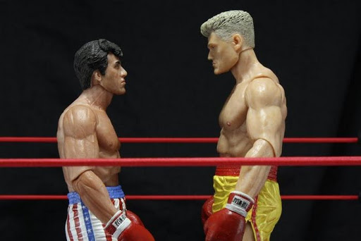 Фигурка Rocky Series 2 Rocky Blood Spit (18 см)