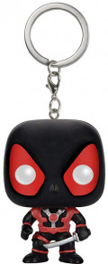 Брелок Funko POP Marvel: Deadpool – Deadpool In Black Suit