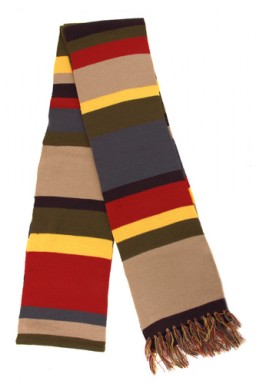 Шарф Doctor Who. Doctor's scarf (цветной)