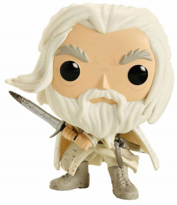 Фигурка Funko POP Movies: Lord Of The Rings – Gandalf The White With Sword (9,5 см)