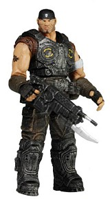 Фигурка Gears of War 3. Series 1. Marcus Fenix (10 см)