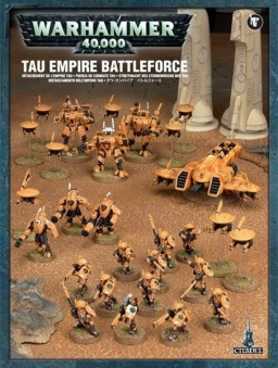 Набор миниатюр Warhammer 40,000. Tau Empire Battleforce (новая версия)