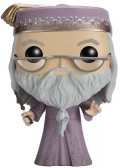 Фигурка Funko POP: Harry Potter – Albus Dumbledore With Wand (9,5 см)