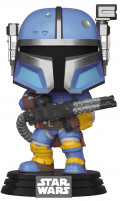 Фигурка Funko POP: Star Wars The Mandalorian – Heavy Infantry Mandalorian Bobble-Head (9,5 см)