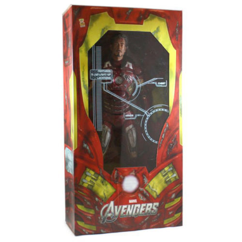Фигурка Avengers 1/4. Iron Man Mark VII Battle Damaged (46 см)