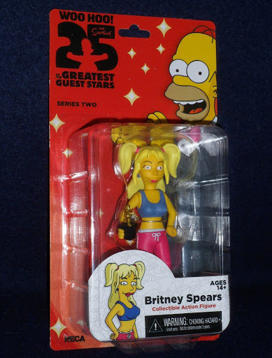 Фигурка The Simpsons Series 2. Britney Spears (13 см)