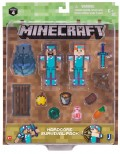Набор фигурок Minecraft: Hardcore Survival Pack