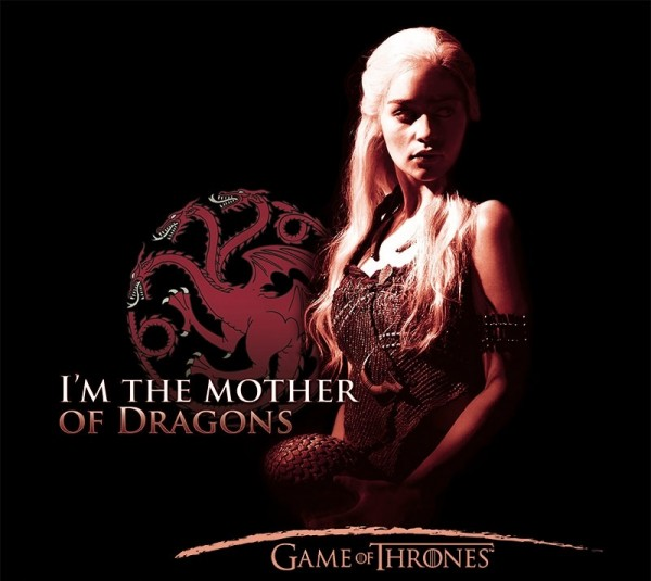 Футболка Game Of Thrones: Mother Of Dragon (черный)