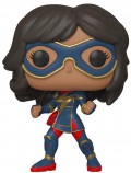Фигурка Funko POP Games Marvel: Avengers Gamerverse – Kamala Khan Stark Tech Suit Bobble-Head (9,5 см)