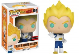 Фигурка Funko POP Animation: Dragonball Z – Super Saiyan Vegeta Blue & White (9,5 см)