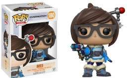 Фигурка Funko POP Games: Overwatch – Mei (9,5 см)