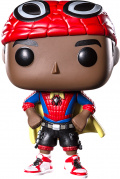 Фигурка Funko POP: Spider-Man Into The Spider-Verse – Miles Morales With Cape Bobble-Head (9,5 см)