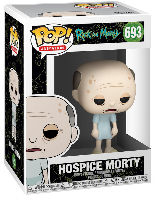 Фигурка Funko POP Animation: Rick And Morty – Hospice Morty (9,5 см)